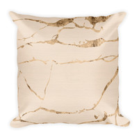 Brooke II Rose & Gold Bohemian Pillow
