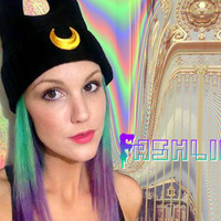 UNISEX Luna Cat Ear Grunge Beanie // Sailor Moon // fASHLIN
