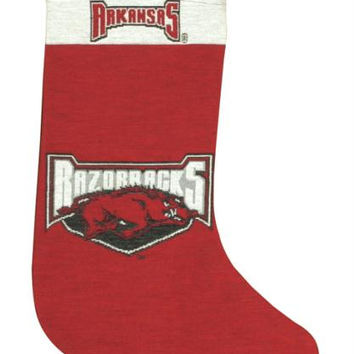 Christmas Stocking - Arkansas Razorbacks