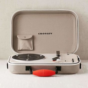 Crosley CR8016 Messenger Shoulder Bag Turntable - Gray