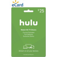 Hulu $25 (Email Delivery) - Walmart.com