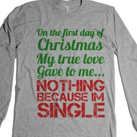 Heather Grey T-Shirt | Funny Christmas Shirts