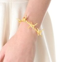 TOM BINNS Barricade Babe Barbed Wire Cuff | SHOPBOP