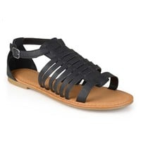 Journee Collection Women's Gladiator Sandals