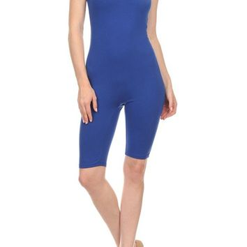 Sleeveless Low Back Workout Yoga Romper Jumpsuits Activewear
