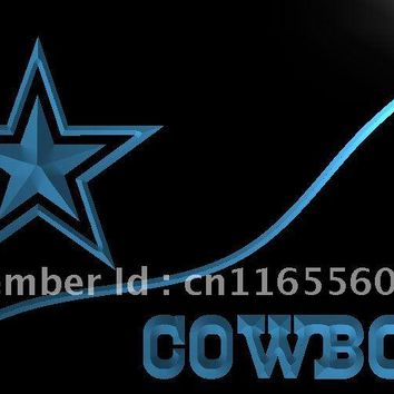 LD503- Dallas Cowboys   LED Neon Light Sign     home decor shop crafts