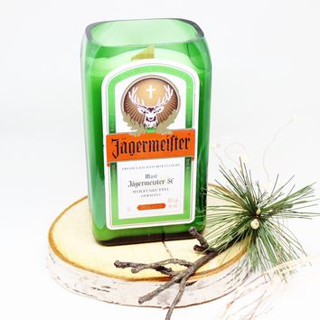 Jagermeister Candle