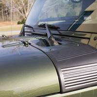 All Things Jeep - Black Cowl Body Armor by Rugged Ridge for Jeep Wrangler JK (2007-2015)