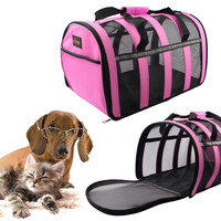Portable Pet Travel Carrier