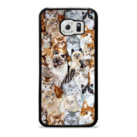 lost cat art Samsung Galaxy S6 Case