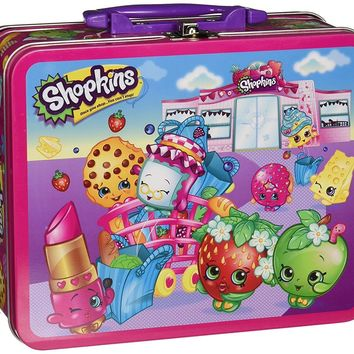 Moose Pressman Toys Shopkins Assortment in Lunch Box Puzzle (100 Piece)