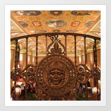 Medusa at The Palmer House Art Print by Jackie Jaramillo