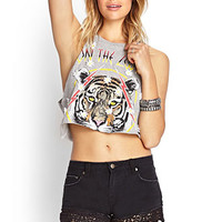 FOREVER 21 Dream On Lace-Trim Shorts