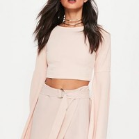 Missguided - Pink D Ring Skort