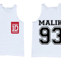 One Direction Zayn Malik tank top