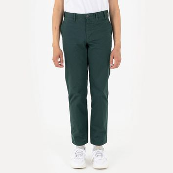 Aros Heavy Twill Pant in Spinnaker Green