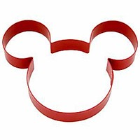 Disney Parks Mickey Mouse Icon Cookie Cutter New with Tag