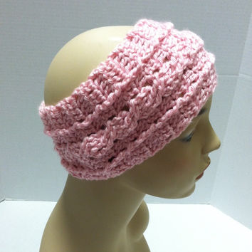 Kay's Crochet Crossed Cable Head Band Ear Wamer Pattern Instant Digital Download