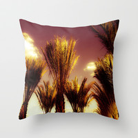 Springtime Throw Pillow by Louise Machado