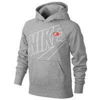 Nike YA76 Exploded Outline PO Hoodie - Boys' Grade School at Kids Foot Locker