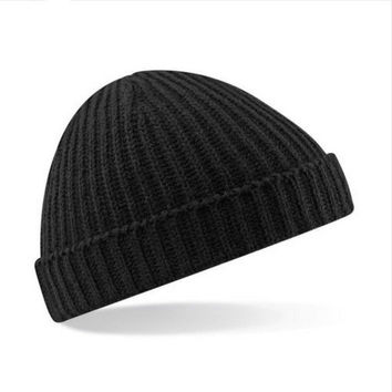 Women Men Korean Fashion Knitting Wool Caps Ski Woman warm  hats Beanie Hats Mens Ladies Caps SM6