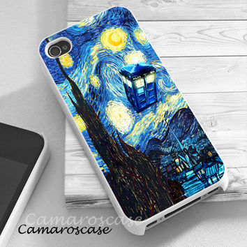 Tardis Doctor Who Starry Night iphone 4/4s/5/5c/5s case, Tardis Doctor Who Starry Night samsung galaxy s3/s4/s5, Tardis Doctor Who Starry Night samsung galaxy s3 mini/s4 mini, Tardis Doctor Who Starry Night samsung galaxy note 2/3