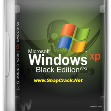 Windows Xp Black Edition SP3 ISO 2016 32/64 bit DownloadSnapCrack
