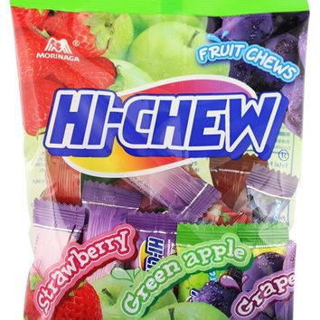 Hi Chew Original Mix (Apple. Strawberry, Grape) Chewy Candy