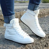 Men Breathable High-Top Sneakers