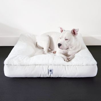 Ruby® Square Orthopedic Luxury Faux Fur Dog Bed