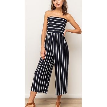 Days Like Today Jumpsuit - Navy