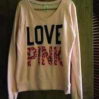 Love Pink Victoria Secret Sweatshirt size med.