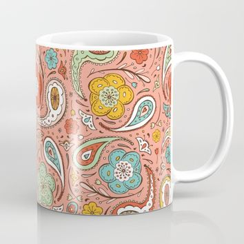 Adora Paisley Mug by Heather Dutton