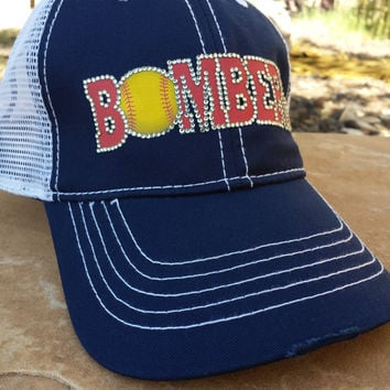 Bombers Softball Mom Hat