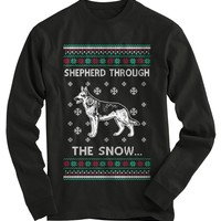German Shepherd Ugly Christmas Sweater