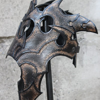 Dark Elf - Leather Armor - Gothic Crown