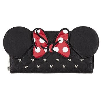 Disney Minnie Bow Wallet by Loungefly New with Tags