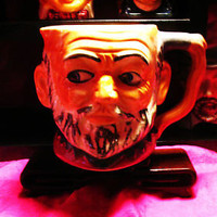 Vintage TOBY MUG/PITCHER Dickens Character Made in Occupied Japan Majolica