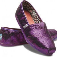 Purple Women's Glitters | TOMS.com
