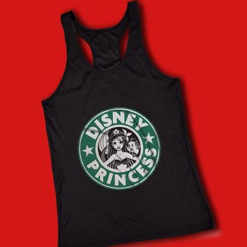 Ariel Mermaid Starbuck Disney Princess Women'S Tank Top