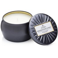 Voluspa Makassar Ebony & Peach: Notes of Solid Black Ebony Wood, Ripe Peaches, Apple Blossom.