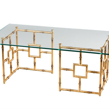 Dessau Home A/G Bamboo Float Coffee Table - Hc634