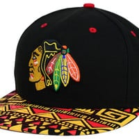 Chicago Blackhawks NHL Cross Colors 9FIFTY Snapback Cap