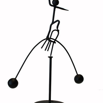 The Chair Man - Balancing Desk toy Kinetic Sculpture