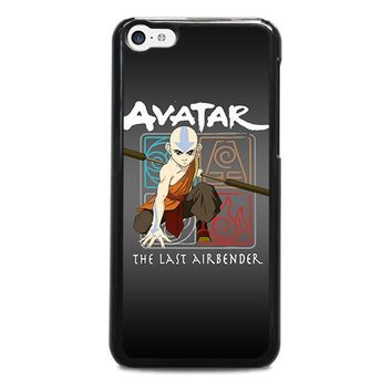 avatar last airbender iphone 5c case cover  number 1