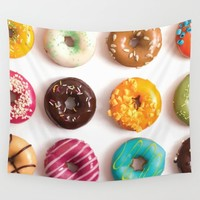 I Donut Care Wall Tapestry by allisone