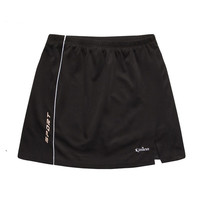 Woman Tennis Skorts Lady 2 In 1 Skirts Polyester Breathable Sports Training Running Jogging Tennis Skorts