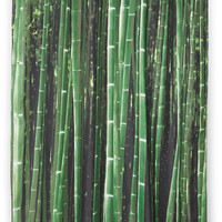 Kikkerland Safari Beyond the Grove Shower Curtain in Bamboo