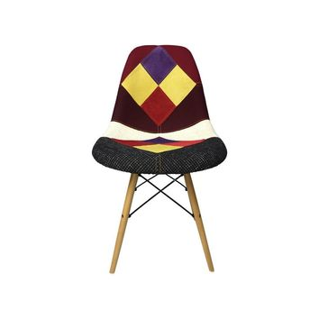 DSW Eiffel Patchwork Chair - E - Reproduction