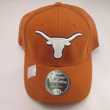 Texas Longhorns Top of The World Fitted Hat Size L/XL